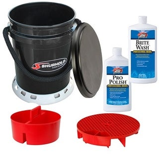 Shurhold Ultimate Bucket Kit Wash and Wax Promo Ultimate Bucket Kit Wash & Wax Promo