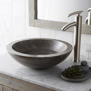 "Link to Morro 17-inch NativeStone Vessel Bathroom Sink - 17"" x 5"" Similar Items in Sinks"