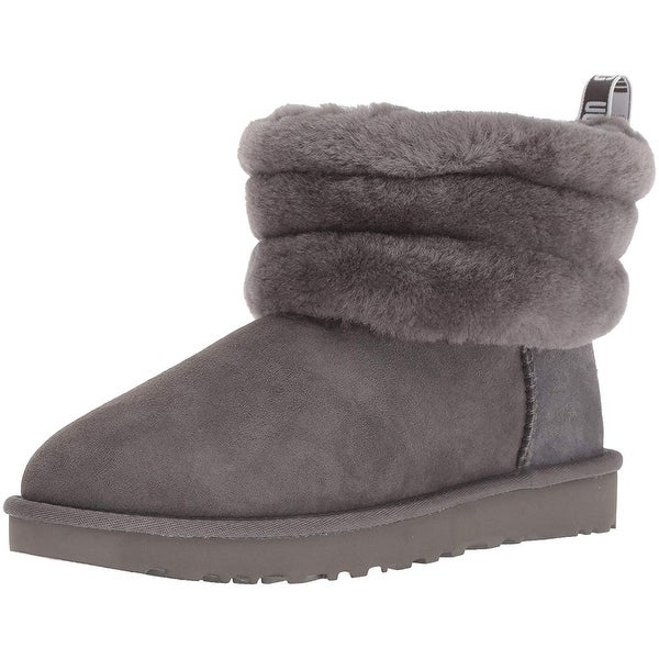 7bef4ff346c Shop UGG Women's W Fluff Mini Quilted Fashion Boot - Free Shipping ...