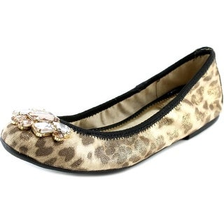 Marc Fisher Cadassi 3 Women Round Toe Canvas Flats