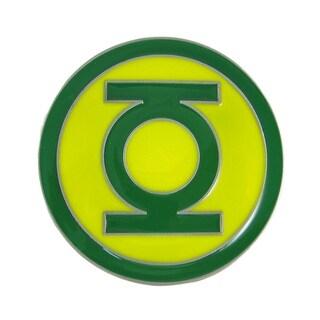 Pewter Finish Green Lantern Logo Belt Buckle Comics