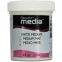 Matte - Media Medium 4Oz