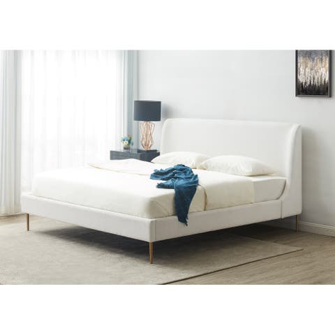 Safavieh Couture Jaiden Upholstered Bed