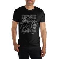 DC Comics Batman Grid Mens T Shirt