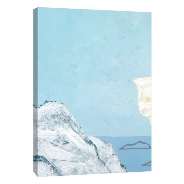 """PTM Images 9-108515 PTM Canvas Collection 10"""" x 8"""" - """"Formations 6"""" Giclee Nautical and Ocean Art Print on Canvas"""
