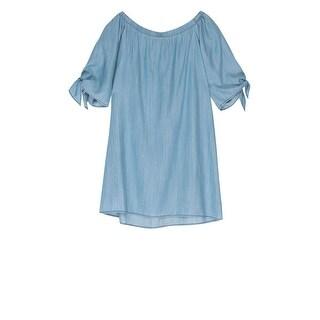 Bobeau Lyocell Off Shoulder Dress