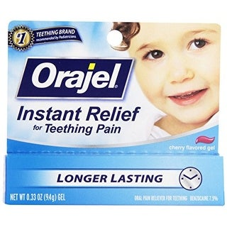 Orajel Teething Gel - Cherry - .33 oz