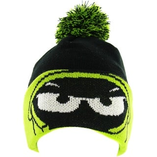 Marvin the Martian Hero Major Cuff Knit Hat with Pom