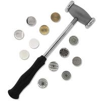 Beadsmith Metalwork Hammer With Twelve Interchangeable Faces