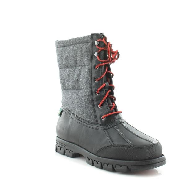 Lauren by Ralph Lauren Quinly Women's Boots Black/Gray - 9