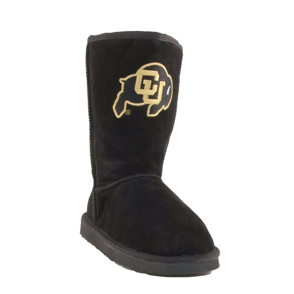 Gameday Boots Womens U Of Colorado Buffs Roadie Black COL-RL1005-2