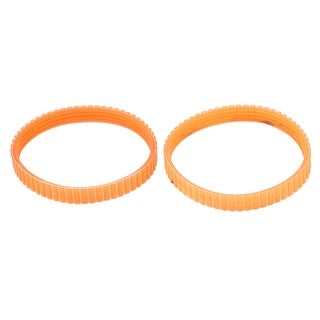 220mm Inner Girth Axis Drive Single Side Engine Mechine Timing Pulley Belts 2pcs