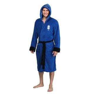 Doctor Who TARDIS Fleece Bathrobe