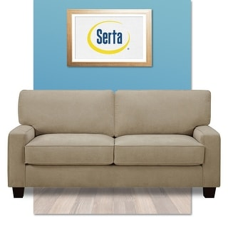 "Link to Serta Palisades 73"" Mid Century Modern Sofa Similar Items in Sofas & Couches"