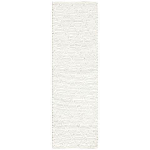 SAFAVIEH Handmade Natura Qiong Wool/ Viscose Trellis Rug