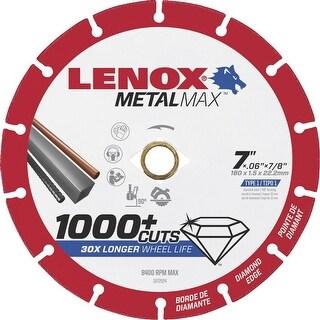 Lenox 7 Diamond Cutoff Wheel