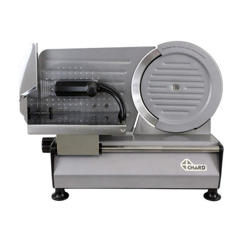 """Chard FS-860, 8.6"""" Heavy Duty Electric Food Slicer, Stainless Steel"""