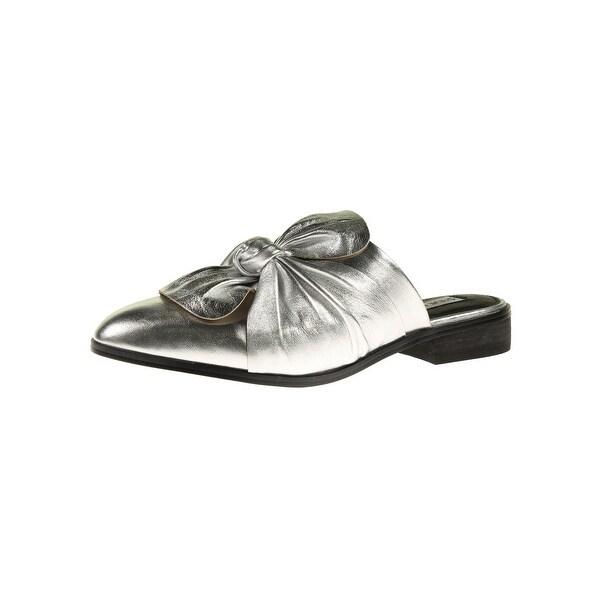 cb7428b2ab6 Shop Steve Madden Womens Lauren Mules Leather Almond Toe - Free ...