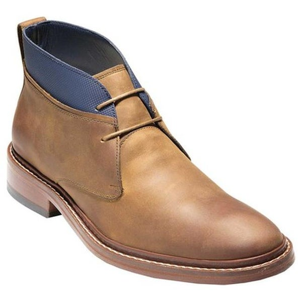 7d85c229fb9 Shop Cole Haan Men s Colton Chukka Boot Copper Peacoat Leather ...