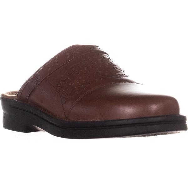 1f58192de4738 Shop Clarks Patty Renata Flat Clogs, Dark Tan Leather - 8.5 US ...