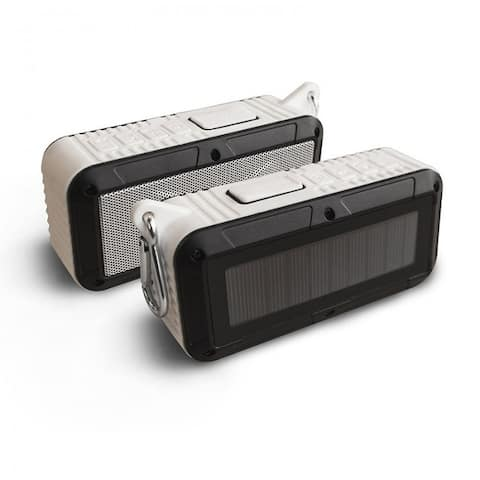 Solar Powered Bluetooth Portable Speaker - 3 Colors