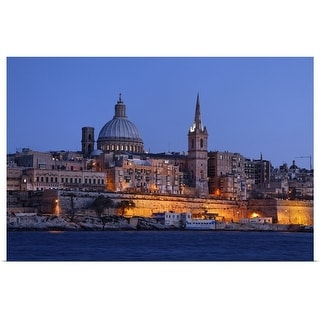 """""""St. Paul's Anglican Cathedral"""" Poster Print"""