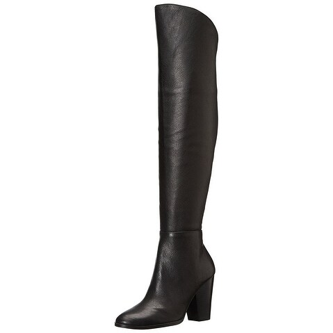 STEVEN by Steve Madden Women's Sleek Knee-High Dress Boots - 5.5