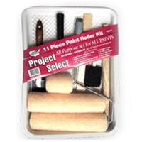 Linzer Products RS611 Metal Roller & Tray Set, 11 Pieces