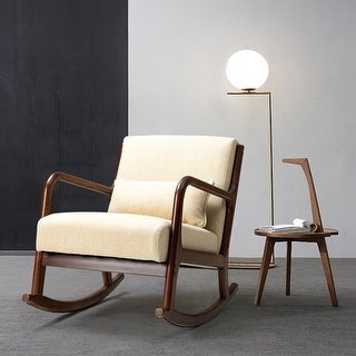 Link to Zulama Upholstered Rocking Chair Similar Items in Accent Chairs