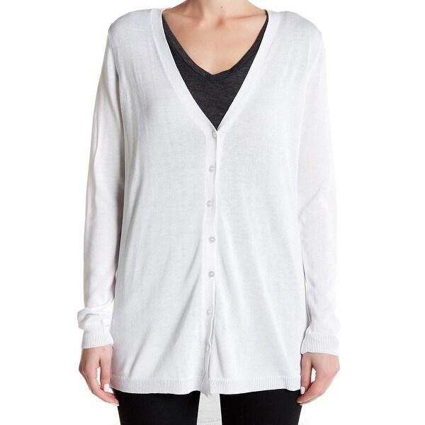 Joseph A. NEW White Women's Size XS Button Down Cardigan Sweater ...