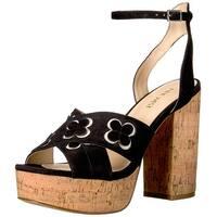 Nine West Women's Koolkat Suede Dress Sandal - 8.5