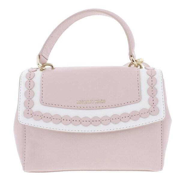 aed0c1e384b6c9 Shop MICHAEL Michael Kors Womens Ava Crossbody Handbag Leather Mini ...