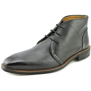 Giorgio Brutini Norsten Men Round Toe Leather Black Chukka Boot