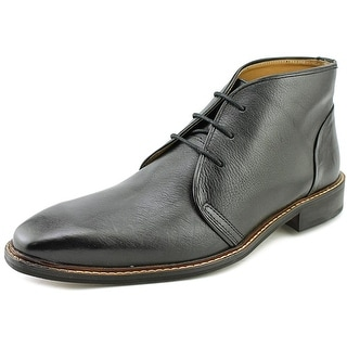Giorgio Brutini Norsten Men Round Toe Leather Black Chukka Boot