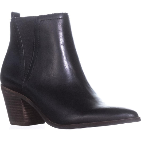 Lucky Brand Lorry Pointed Toe Ankle Boots, Black - 7 us