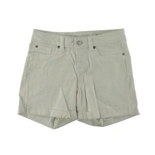 Two by Vince Camuto Womens Denim Cuffed Cutoff Shorts