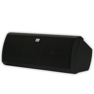 Acoustic Audio AA40CB Indoor Center 3 Way Speaker 500 Watts Black Bookshelf
