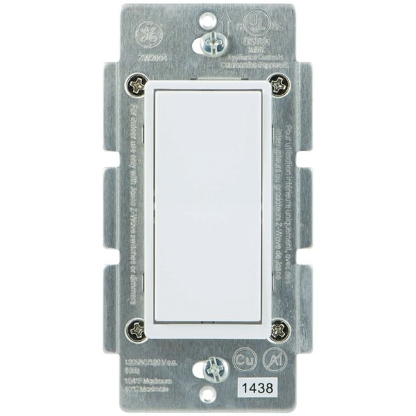 Ge 12723 Z-Wave(R) In-Wall 3-Way Add-On Paddle Switch