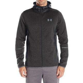 Under Armour Black Mens Size XL Loose Coldgear Storm Sweater Jacket