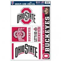 Ohio State Buckeyes Decal 11x17 Ultra