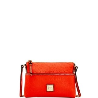 Dooney & Bourke Pebble Grain Ginger Pouchette Shoulder Bag (Introduced by Dooney & Bourke at $128 in May 2018)