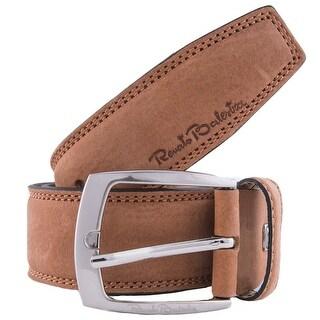 Renato Balestra A058/40 Suede Leather Mens Belt