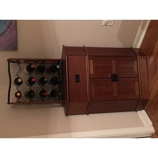Simple living mission corner cabinet free shipping today for Mission style corner hutch