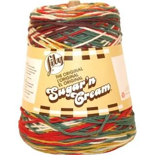 Lily Sugar'n Cream Yarn - Cones-Emerald Energy