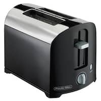 Proctor Silex 22622 2 Slice Cool Wall Toaster, Black