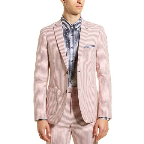 Paisley & Gray Dover Slim Fit Linen-Blend Sport Coat