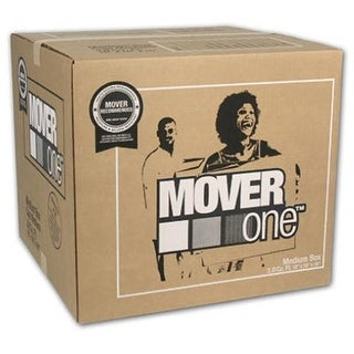 SP-902 18 x 18 x 16 in. Mover One Medium Moving Box, Pack Of 15