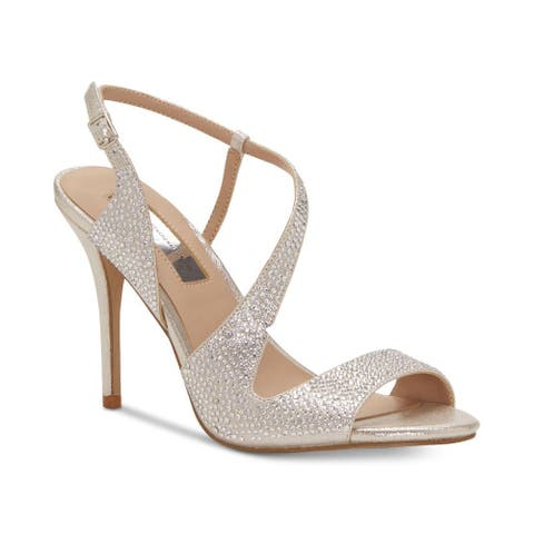 INC International Concepts Womens Renita Fabric Open Toe Casual Ankle Strap Sandals