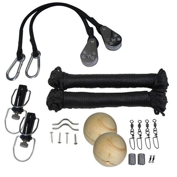 TACO Premium Rigging Kit Black f/1 Pair Outriggers