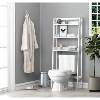 Link to UTEX 3-Shelf Bathroom Organizer Over The Toilet (Espresso) Similar Items in Bathroom Furniture
